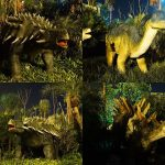 Replika Dinosaurus di Malang Night Paradise